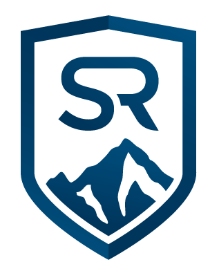 Sr Monogram Blue With White Background Simple Realty Northwest